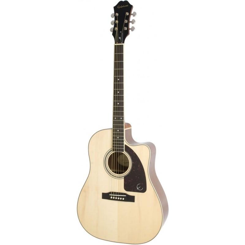 epiphone aj 220sce natural guitares folk guitare electro. Black Bedroom Furniture Sets. Home Design Ideas
