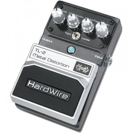 hardwire tl 2 metal distortion effets guitare basse. Black Bedroom Furniture Sets. Home Design Ideas