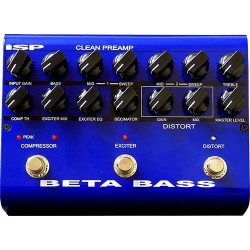 Beta Bass Preamp Pedal
