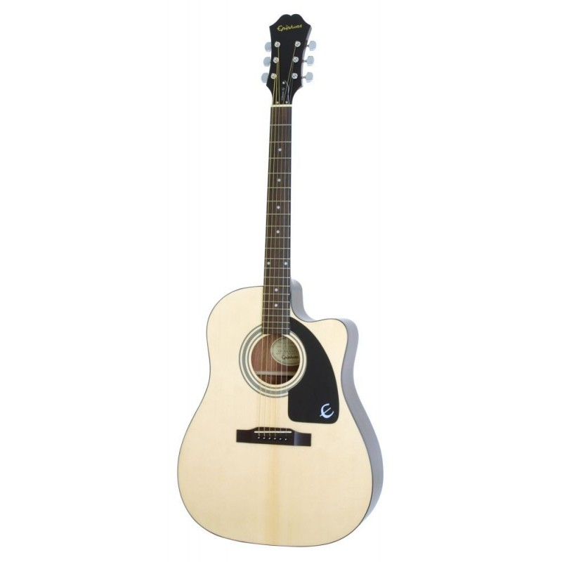 epiphone aj 100ce natural guitares folk guitare electro. Black Bedroom Furniture Sets. Home Design Ideas