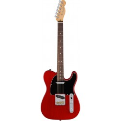 American Pro Telecaster RW Crimson Red Transparent