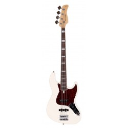 Marcus Miller Basse V7 ALDER-4 AWH RN Antique White avec housse