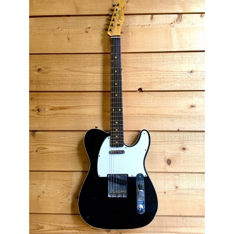 Fender 60'S Telecaster Custom Black Journeyman Relic