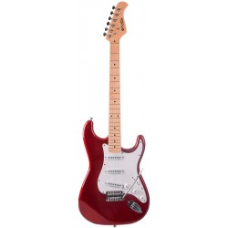 Prodipe Guitars ST-80 MA Candy Apple Red