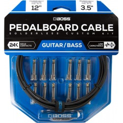 Boss Pedalboard Cable Kit BCK-12