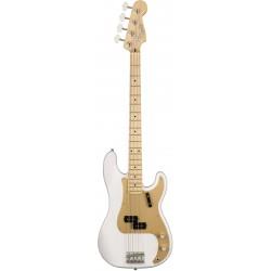 American Original 50s Precision Bass MN White Blonde