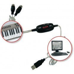 Prodipe MIDI USB 1i1o