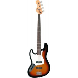 Standard Jazz Bass Left Handed RW Brown Sunburst