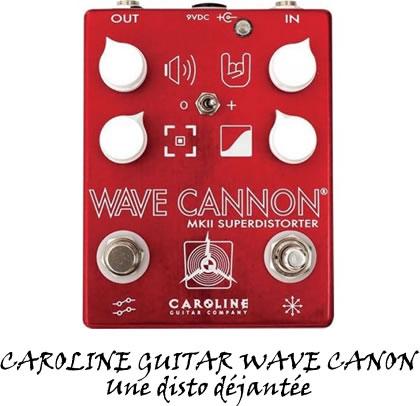 CAROLINE GUITAR WAVE CANON