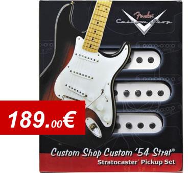 Ensemble de 3 micros Fender Stratocaster 54