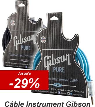 Gibson Câble Instrument en Promo