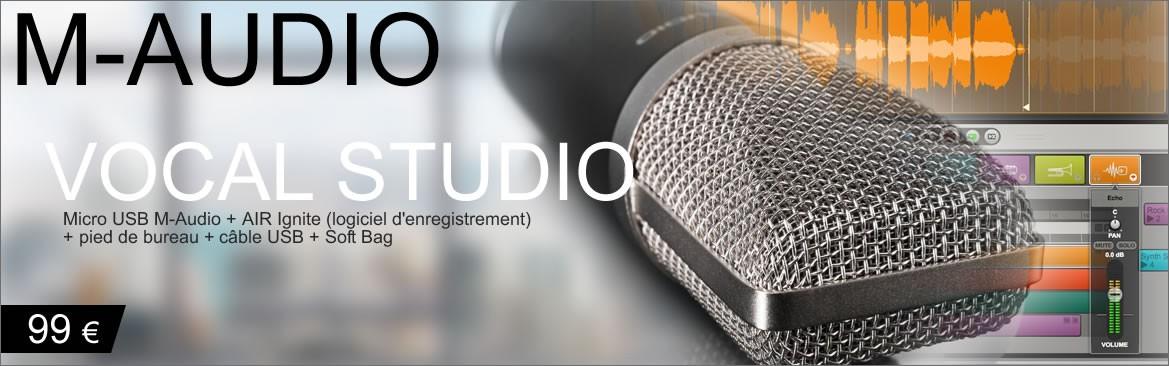 M-Audio Vocal Studio 99 euros