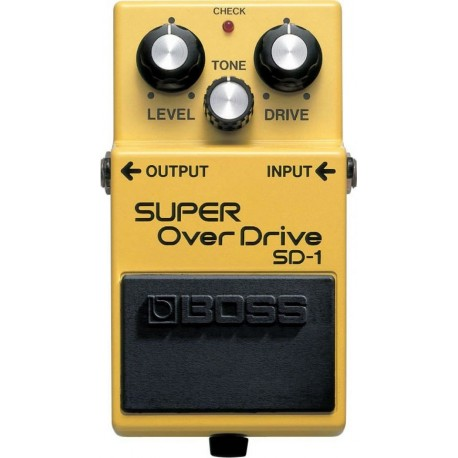 SD-1 Super OverDrive - Pédale Overdrive
