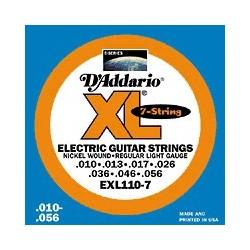 EXL-110-7 Jeu 7 cordes Nickel Regular