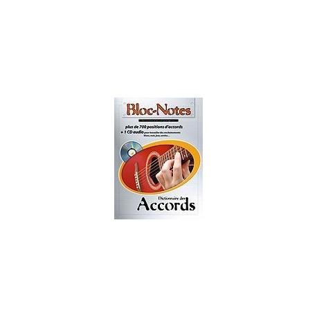 Bloc Notes Dictionnaire des Accords avec CD