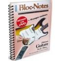 Bloc Notes Débutant Guitare Electrique avec DVD