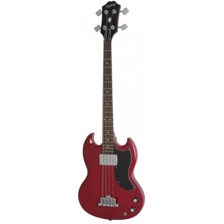 EB-0 Bass Cherry Chrome Hardware