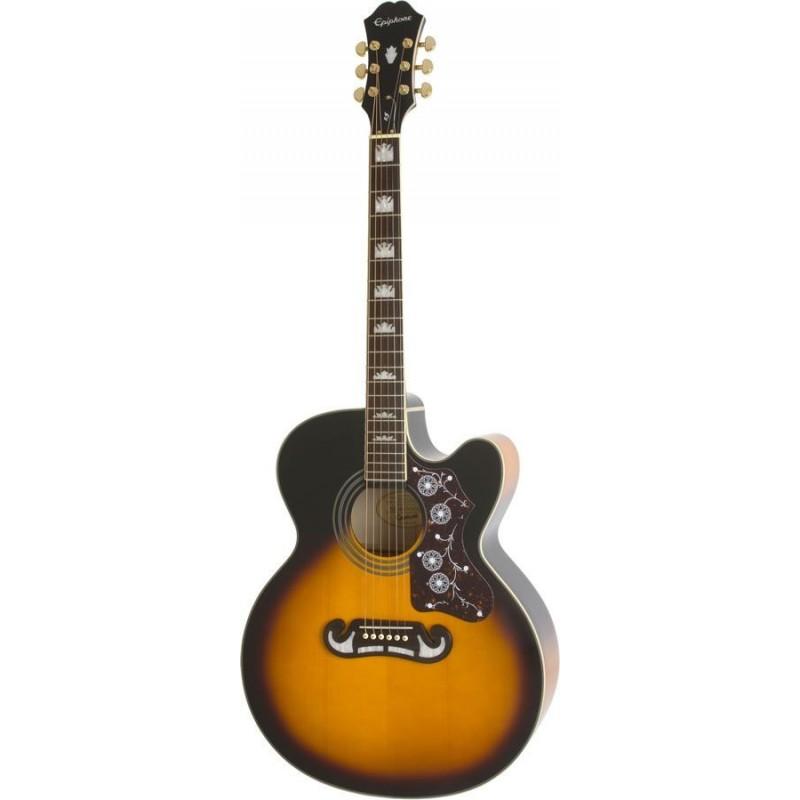 epiphone ej 200ce vintage sunburst guitare electro. Black Bedroom Furniture Sets. Home Design Ideas
