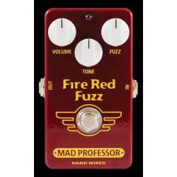 Fire Red Fuzz Hand Wired