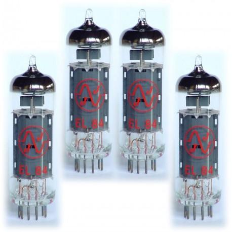 Quartet de Lampes de Puissance EL84