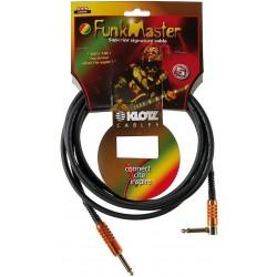 TM Stevens Instrument Cable 3m noir