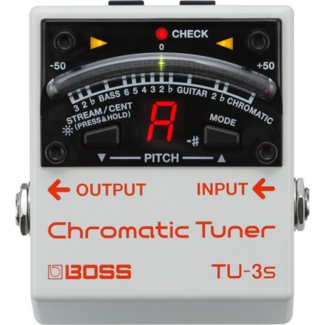 TU-3s Chromatic Tuner - Accordeur Guitare