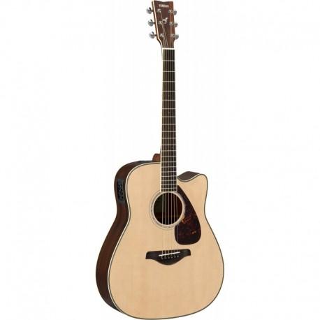 Yamaha FGX830C Naturelle - Guitare Electro Acoustique Folk ...