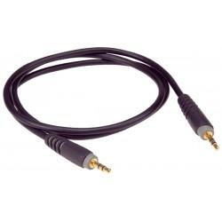 Stéréo-Câble Mini-Jack/Mini-Jack 3 mètres