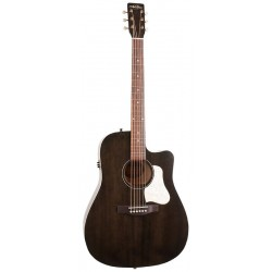 Art et Lutherie Guitare Electro Acoustique Americana Faded Black CW QIT