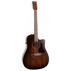 Art et Lutherie Guitare Electro Acoustique Americana Bourbon Burst CW QIT