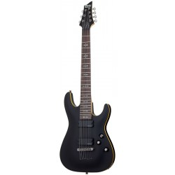 Schecter Demon 7 - Aged Black Satin
