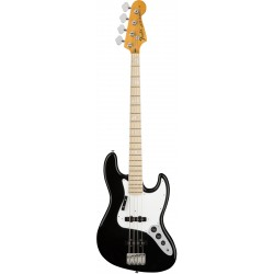 American Original 70s Jazz Bass MN Black