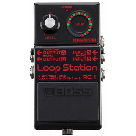 Looper Boss RC-1 Black
