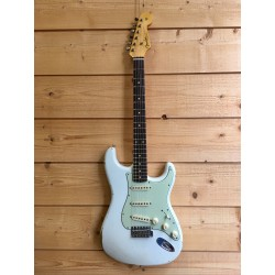 1961 Relic Stratocaster Rosewood Fingerboard Olympic White