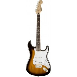 Squier Bullet Strat SSS Brown Sunburst