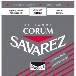 Savarez 500AR Jeu Corum Rouge Tension Normale