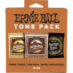 Ernie Ball Tone Pack Acoustique 12-54