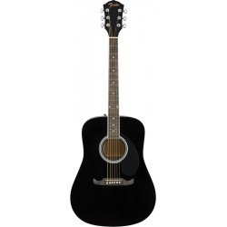 Fender FA-125 Dreadnought, Black