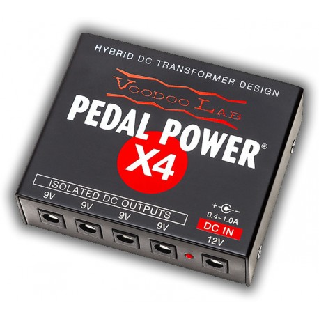 Voodoo Lab Pedal Power X4