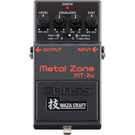 Boss MT-2W Metal Zone Waza Craft