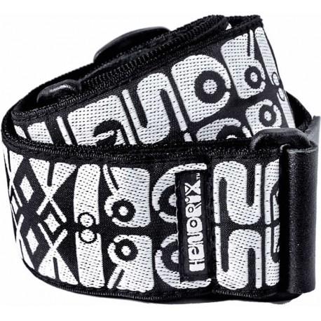 Dunlop Courroie Logo noir & blanc
