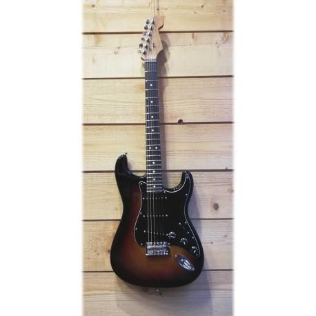 Fender LTD AM Ash Strat RW RSTNK 3TS