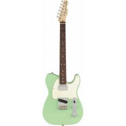 Fender American Performer Telecaster Hum RW Satin Surf Green
