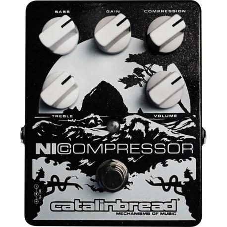 Catalinbread NiCompressor Black & Silver