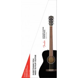 Fender CC-60S Concert Pack Black
