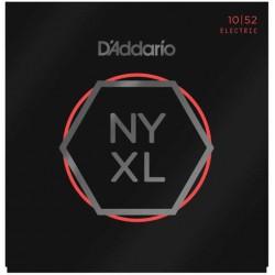 D'Addario NYXL1052 Nickel Wound Light Top Heavy Bottom 10-52