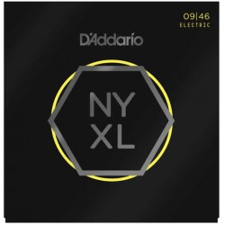 D'Addario NYXL0946 Nickel Wound Super Light Top Regular Bottom 09-46