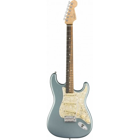 American Elite Stratocaster EB Satin Ice Blue Metallic