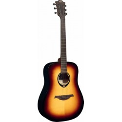 LAG T70D Tramontane Dreadnought brown burst