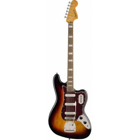 Squier Classic Vibe Bass VI LRL 3-Color Sunburst